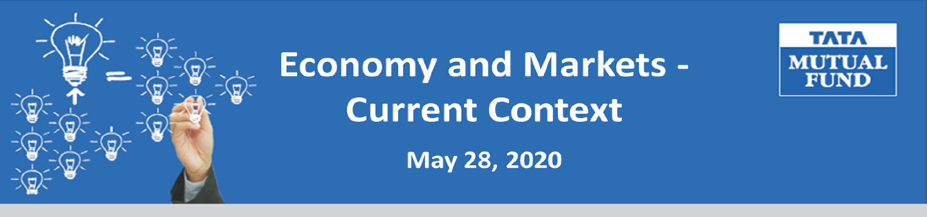 Economy and Markets Current Context Banner