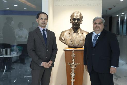 Tata Mutual Fund Front Office Celebration