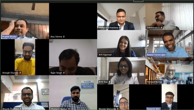 Career -virtual coffee conversations-process of mutual fund-Tata Mutual Fund
